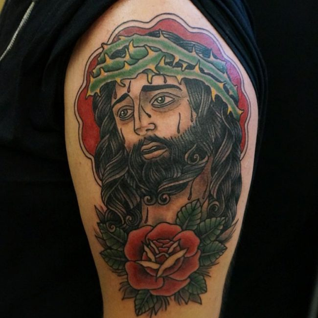 Christian Tattoo 108