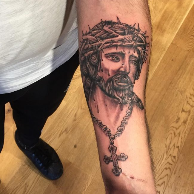Christian Tattoo 110