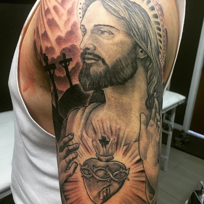 Christian Tattoo 112