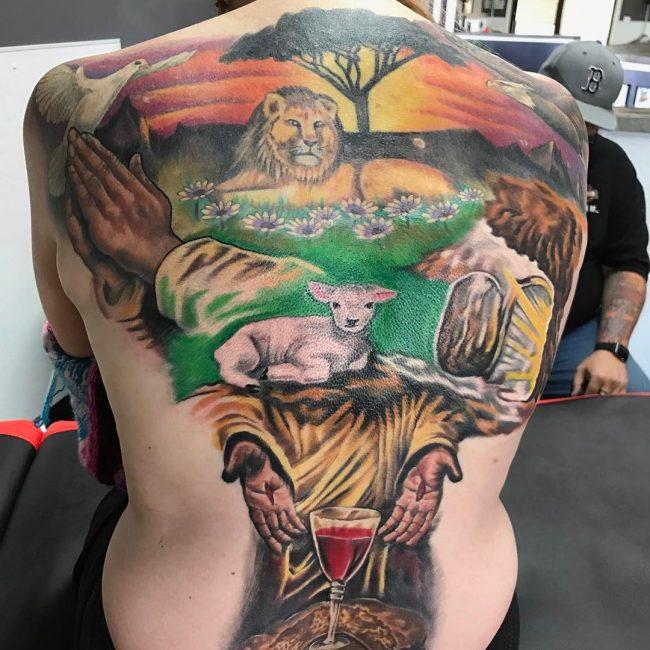 Christian Tattoo 113