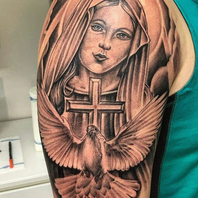 Christian Tattoo 115