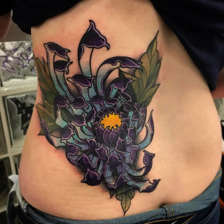 Chrysanthemum Tattoo 70
