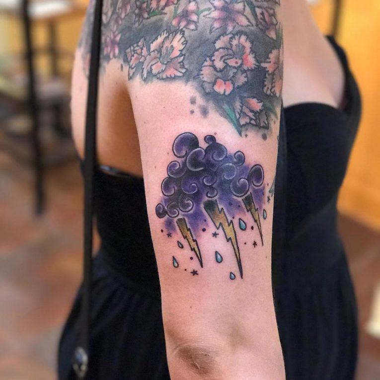 Cloud Tattoo 103