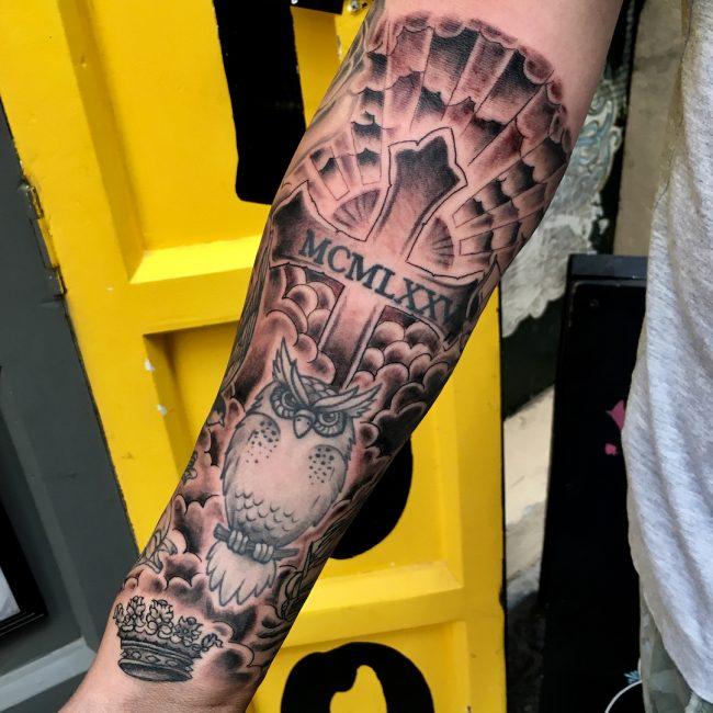 Cloud Tattoo 87