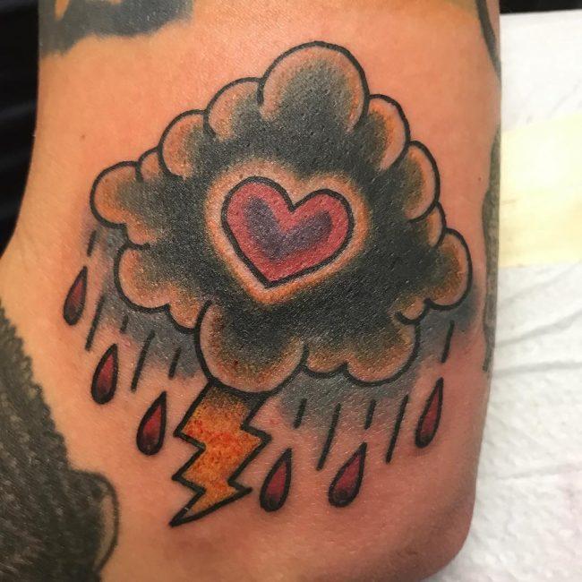 Cloud Tattoo 88