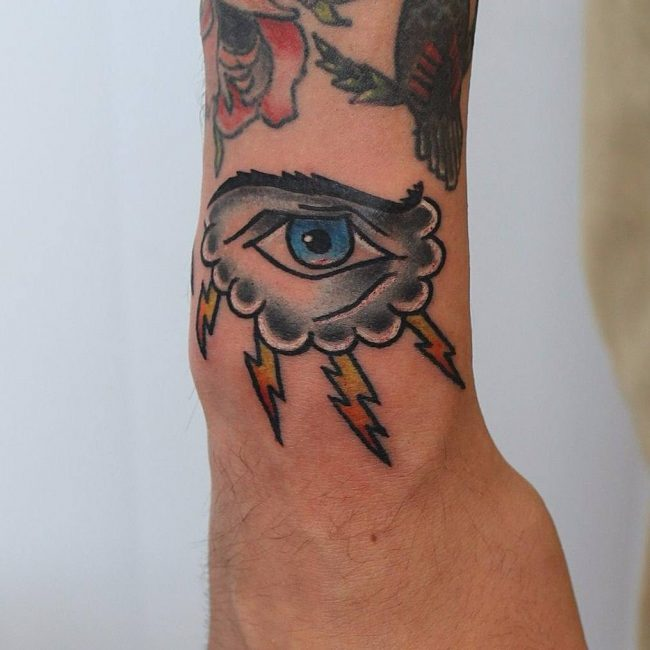 Cloud Tattoo 93