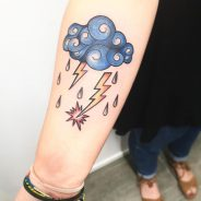 Cloud Tattoo 97