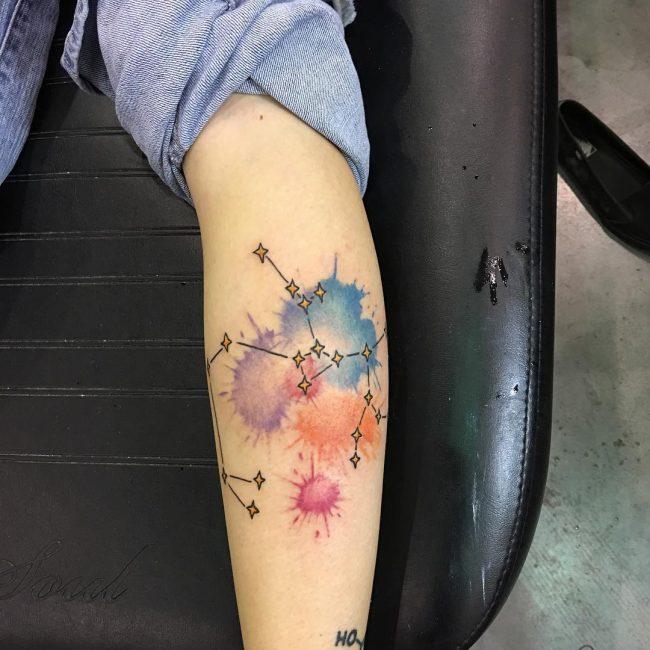 Constellation Tattoo 69