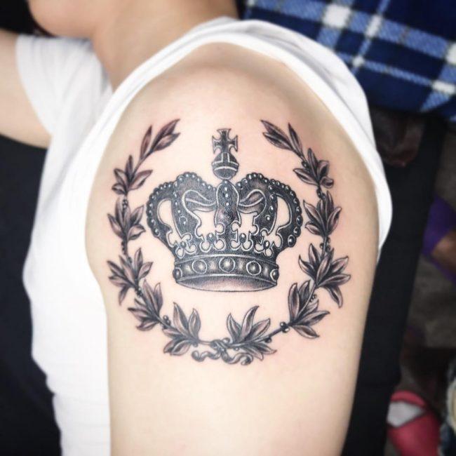 Crown Tattoo 63
