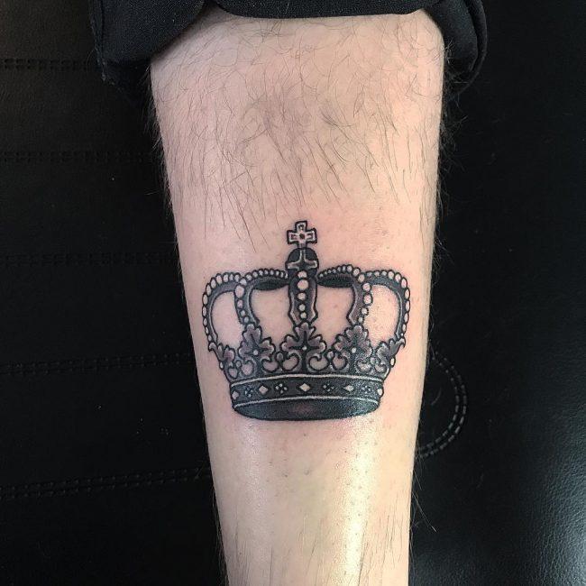 Crown Tattoo 66