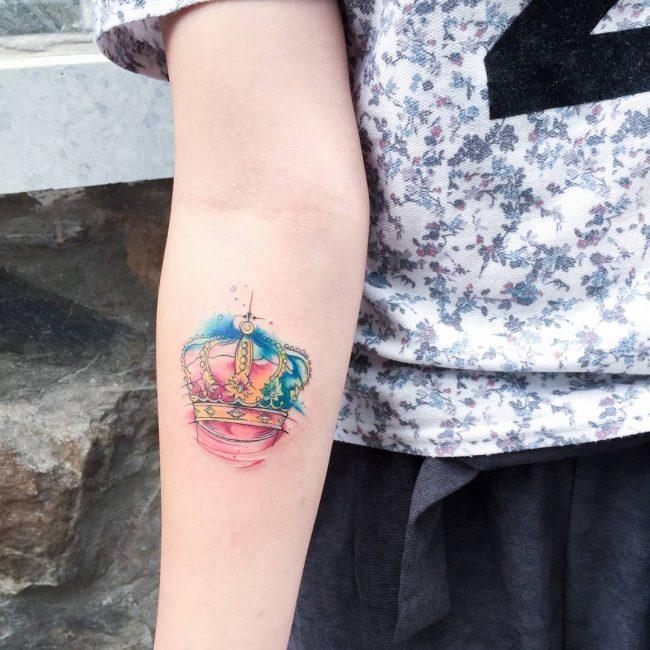 Crown Tattoo 68