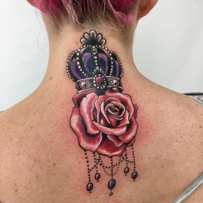 Crown Tattoo 69