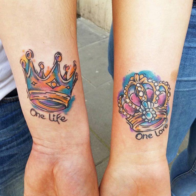 Crown Tattoo 75