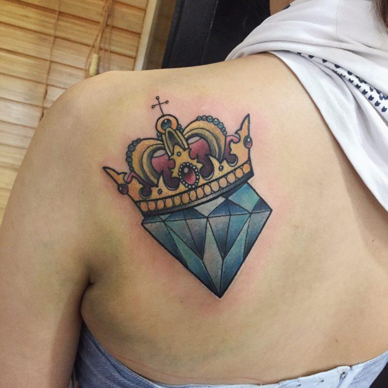 Crown Tattoo 82