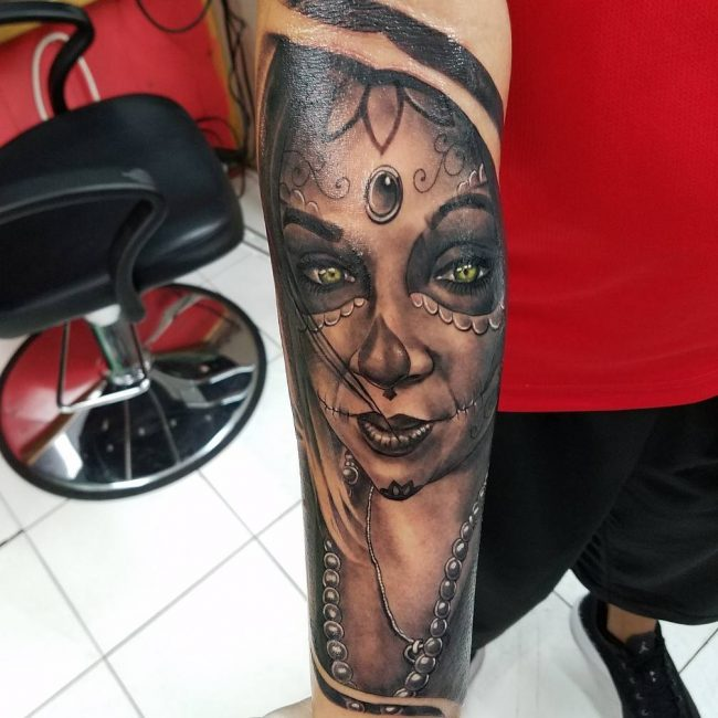 Day of the Dead Tattoo 72