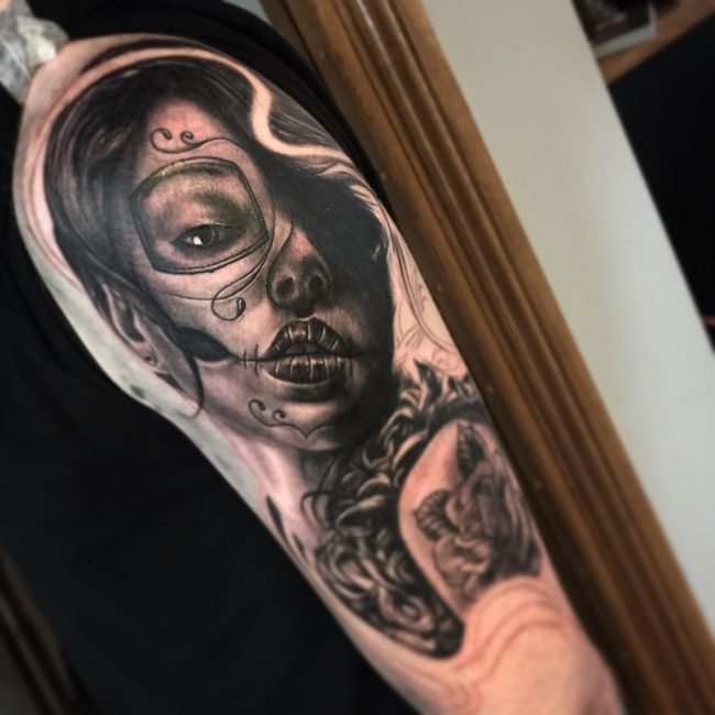 Day of the Dead Tattoo 73