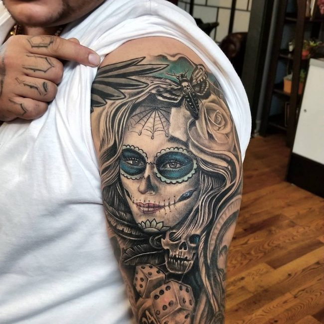Day of the Dead Tattoo 75