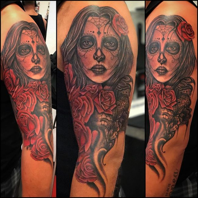 Day of the Dead Tattoo 76