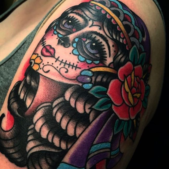 Day of the Dead Tattoo 77