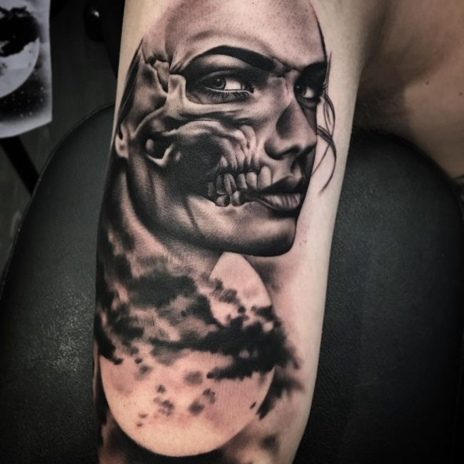 Day of the Dead Tattoo 78