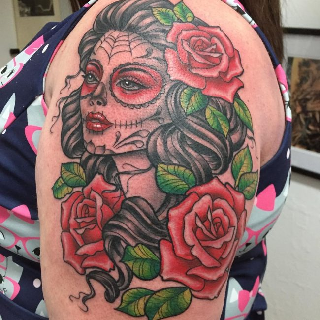 Day of the Dead Tattoo 80