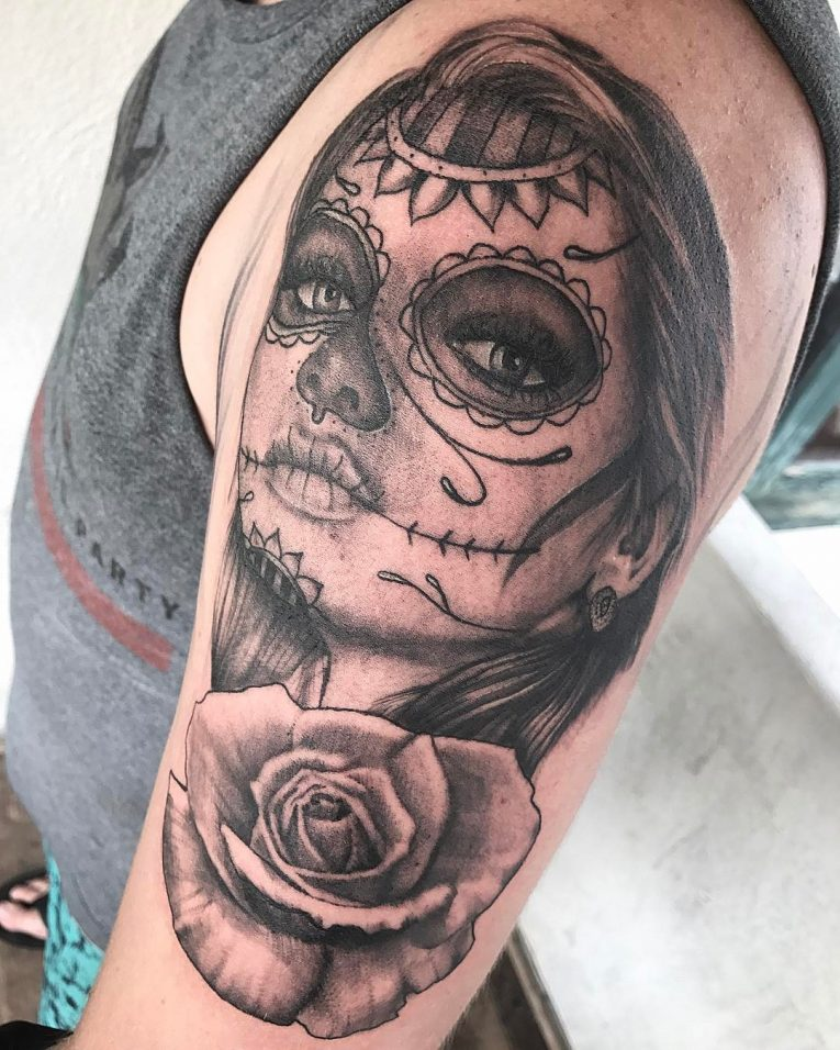 Day of the Dead Tattoo 81