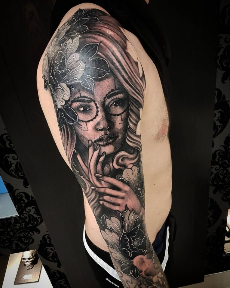 Day of the Dead Tattoo 82