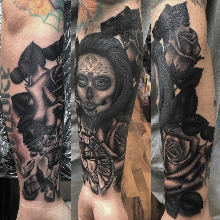 Day of the Dead Tattoo 83