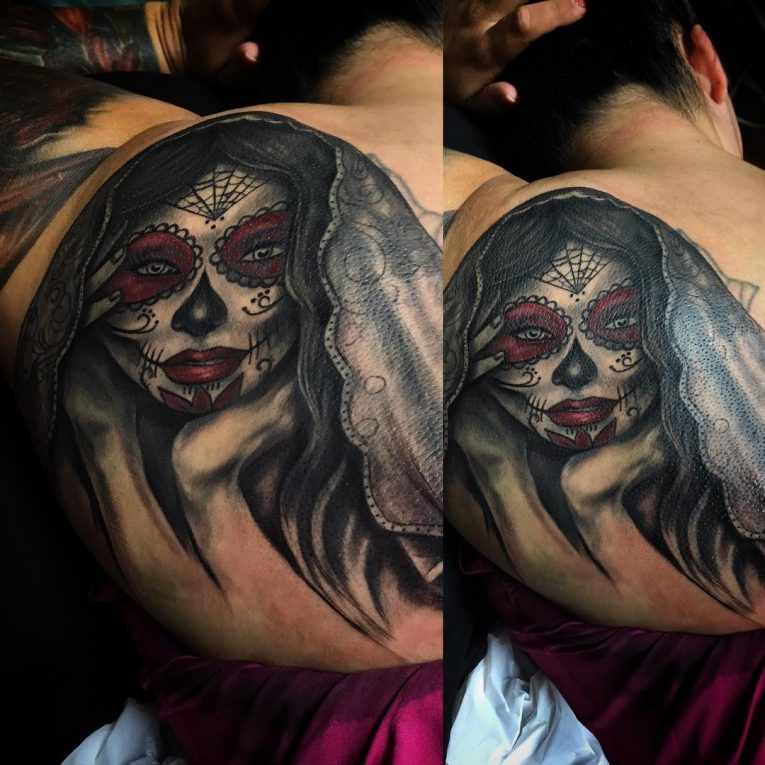 Day of the Dead Tattoo 84
