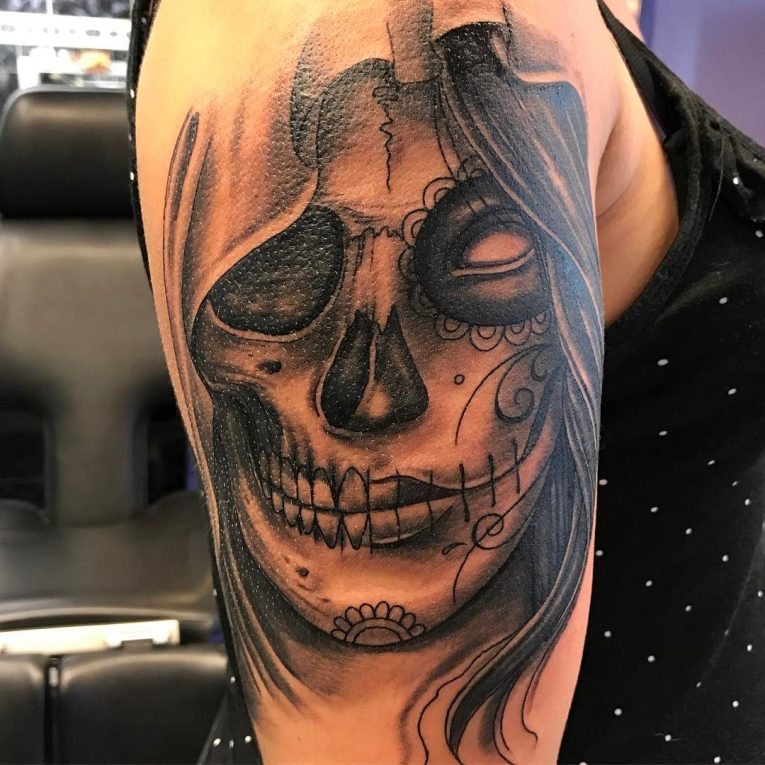 Day of the Dead Tattoo 85