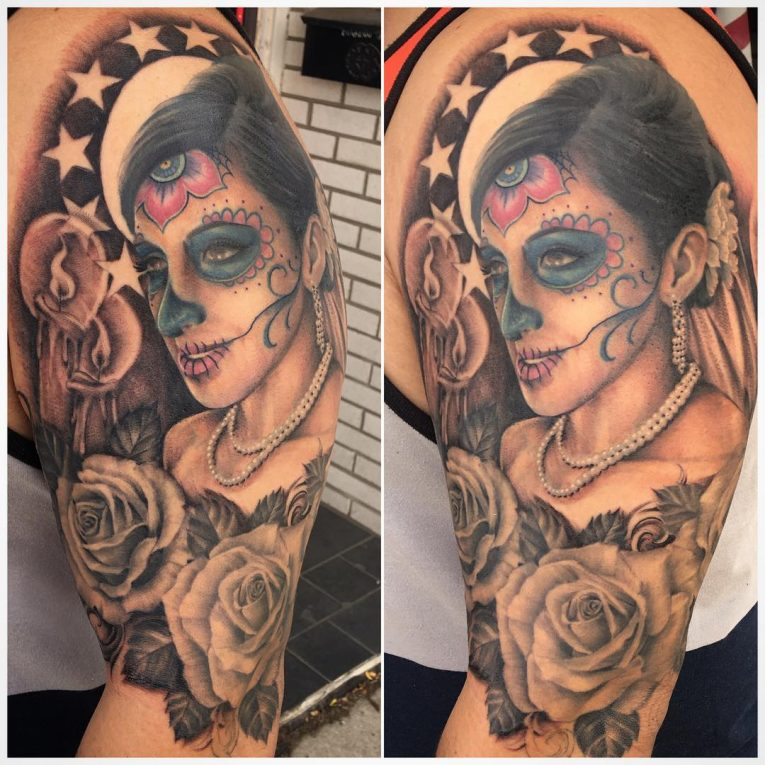 Day of the Dead Tattoo 86