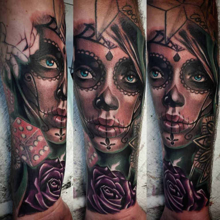Day of the Dead Tattoo 88