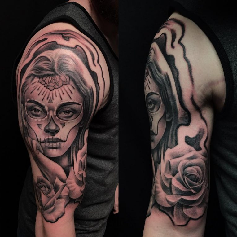 Day of the Dead Tattoo 89
