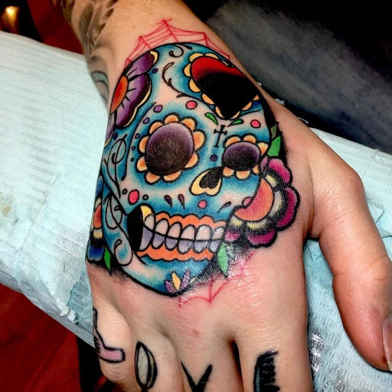 Day of the Dead Tattoo 91