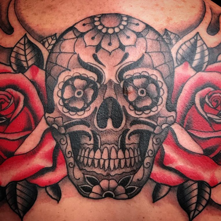 Day of the Dead Tattoo 92