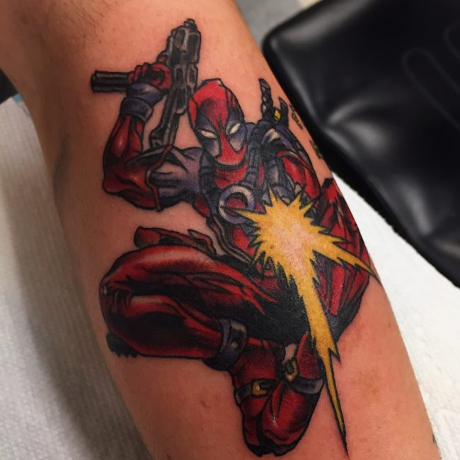 Deadpool Tattoo 51