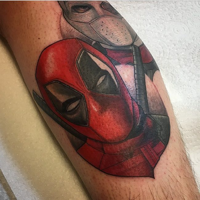Deadpool Tattoo 57
