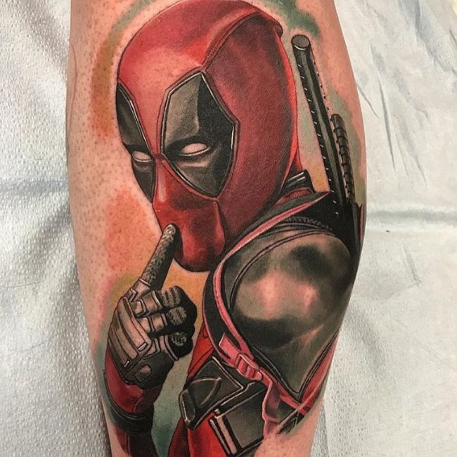 Deadpool Tattoo 59