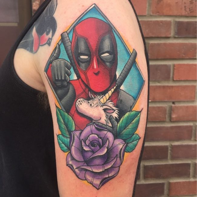 Deadpool Tattoo 60