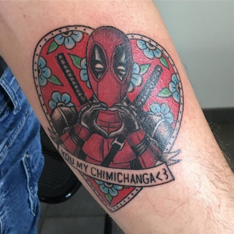 Deadpool Tattoo 61