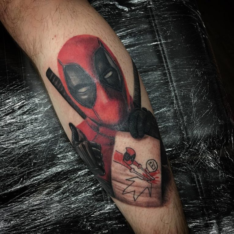 Deadpool Tattoo 62
