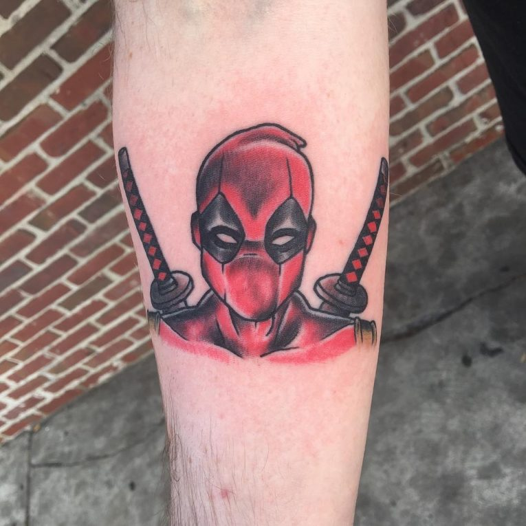 Deadpool Tattoo 65