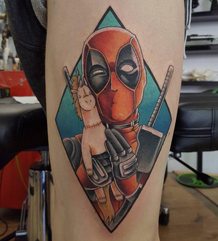 Deadpool Tattoo 68