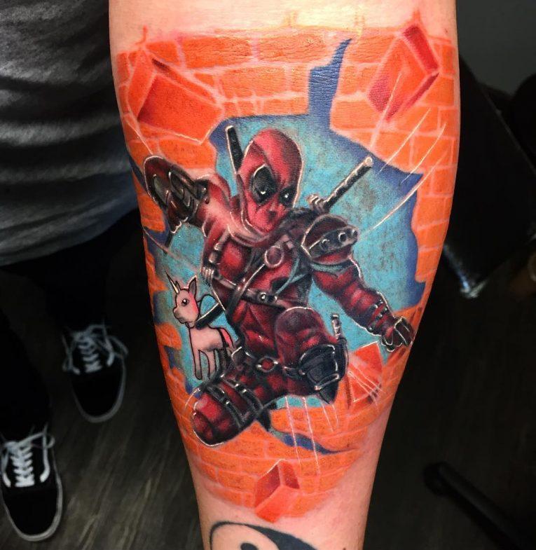 Deadpool Tattoo 69