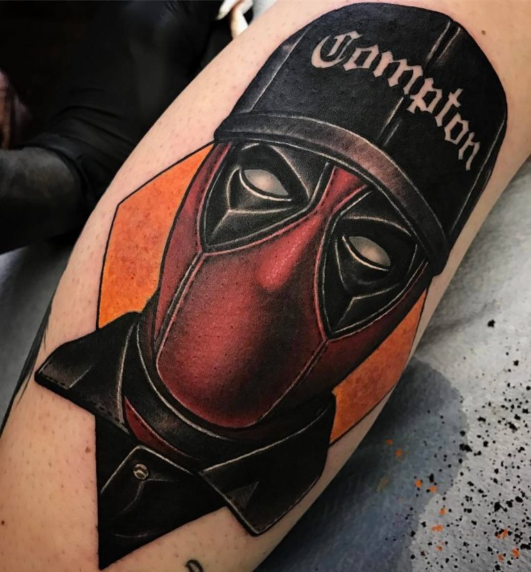 Deadpool Tattoo 71