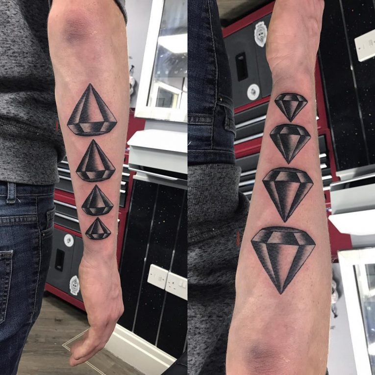 Diamond Tattoo 66