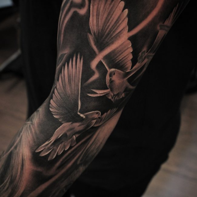 Dove Tattoo 61