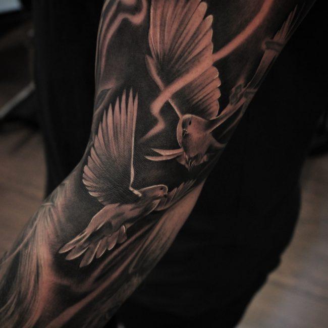 Dove Tattoo 61