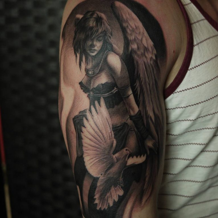 Dove Tattoo 73