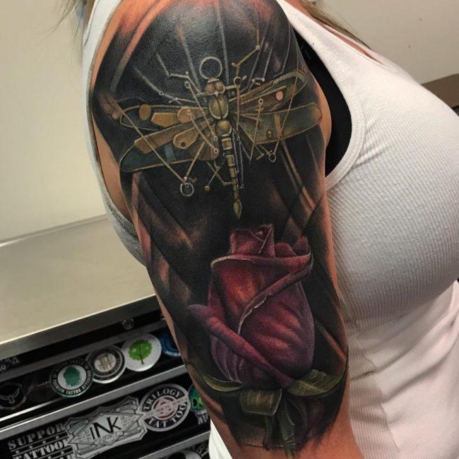 Dragonfly Tattoo 74